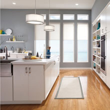 Contemporary cabinets from Kemper Cabinetry