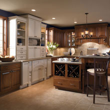 Traditional cabinets from Kemper Cabinetry