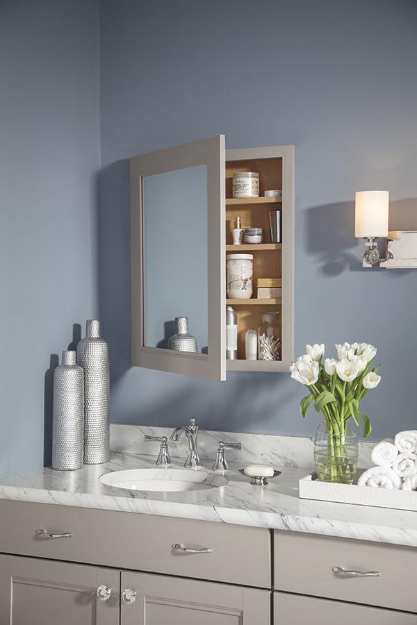 Mirror Bathroom Vanity Cabinet