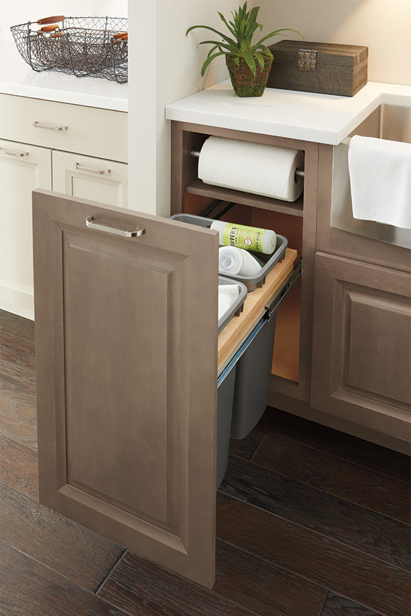 Base Paper Towel Cabinet Kemper Cabinetry