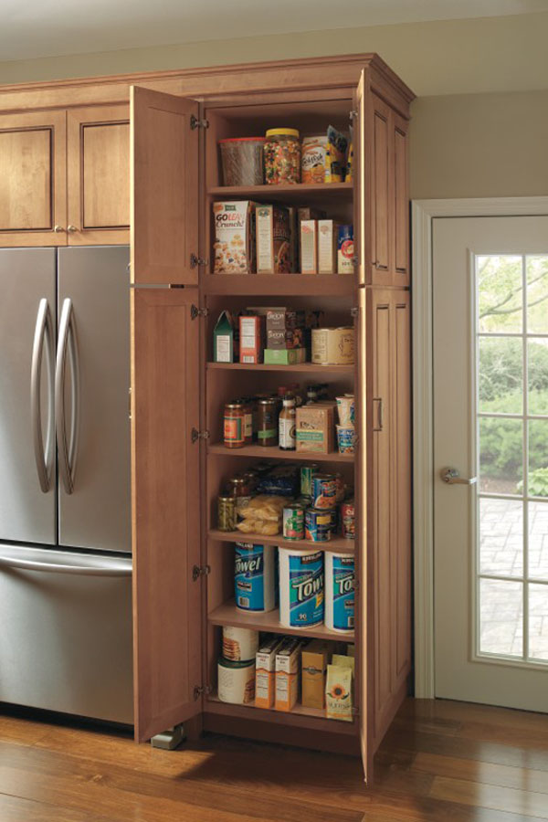 Utility Storage Cabinet With Pantry Pull Out Kemper