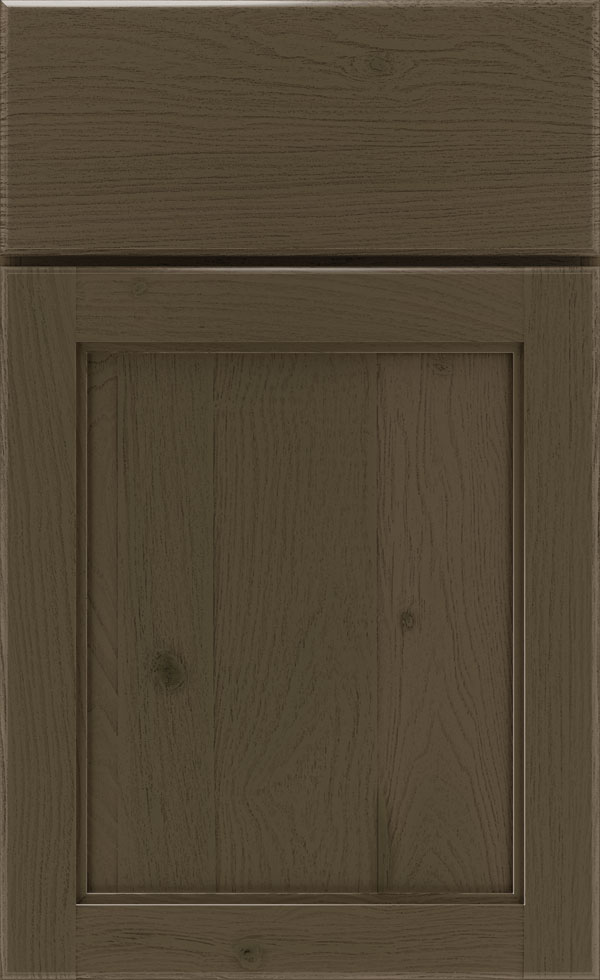 Grizzly Cabinet Finish On Rustic Hickory Kemper Cabinetry