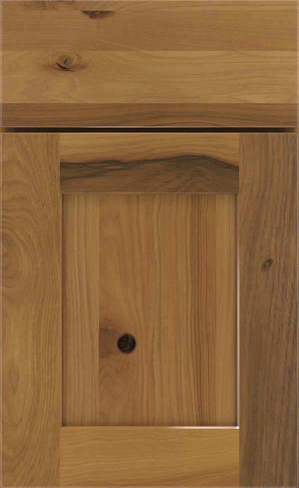 Light Rustic Hickory Cabinet Finish Kemper Cabinetry