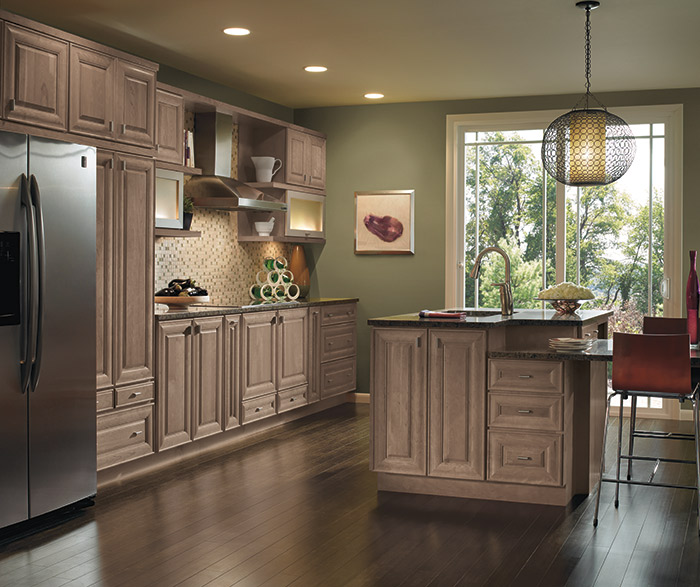 Kitchen Ideas Cherry Colored Cabinets: Base Pantry Pull Out Cabinet