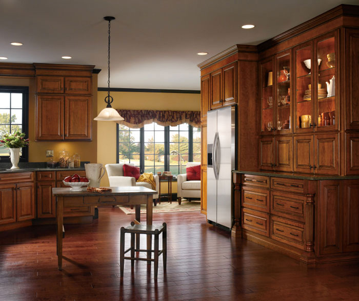 ... Cherry Kitchen Cabinets By Kemper Cabinetry ...