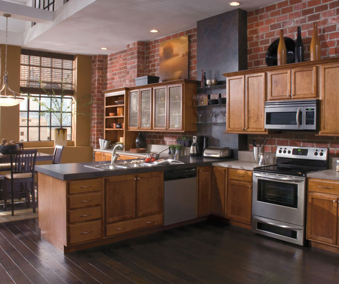 ... Contemporary Kitchen Cabinets By Kemper Cabinetry