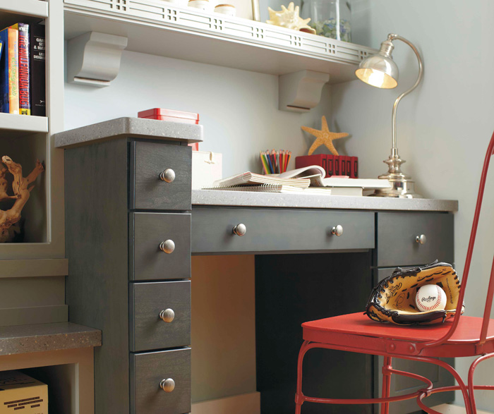 Casual bedroom cabinets by Kemper Cabinetry