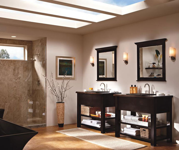 Contemporary Bathroom Vanities By Kemper Cabinetry ...