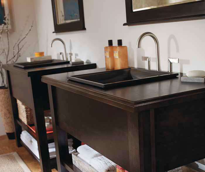 Contemporary Bathroom Vanities Kemper Cabinetry