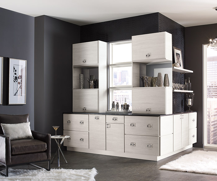 contemporary wet bar cabinets kemper cabinetry. Black Bedroom Furniture Sets. Home Design Ideas