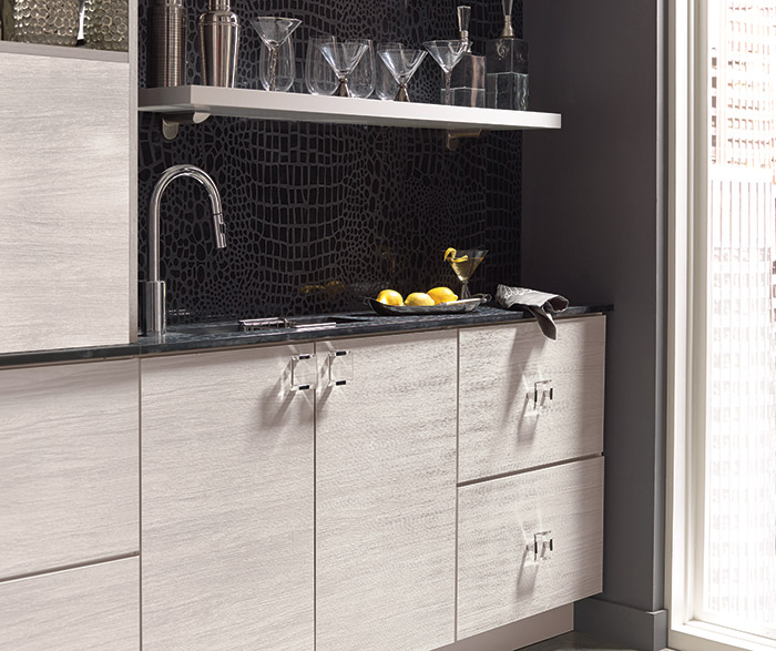 Contemporary Wet Bar Cabinets