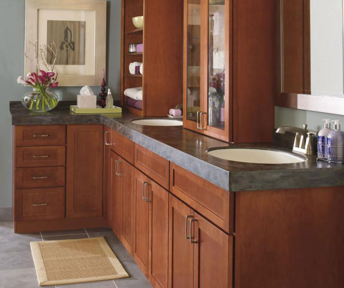 ... Shaker Style Bathroom Cabinets By Kemper Cabinetry ...