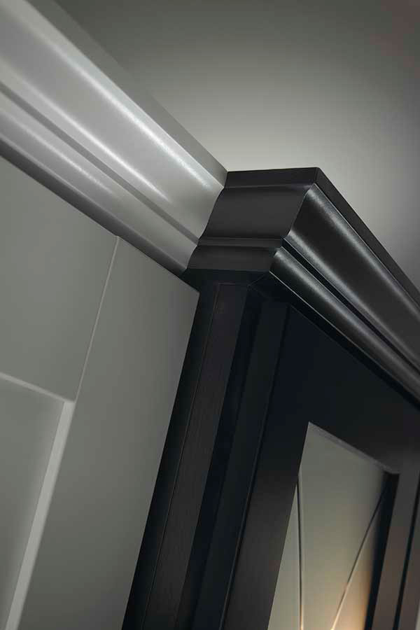 Cove Molding On Kitchen Cabinets
