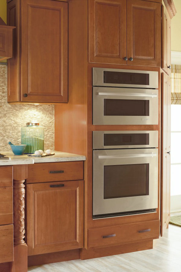 Double Oven Cabinet Kemper Cabinetry