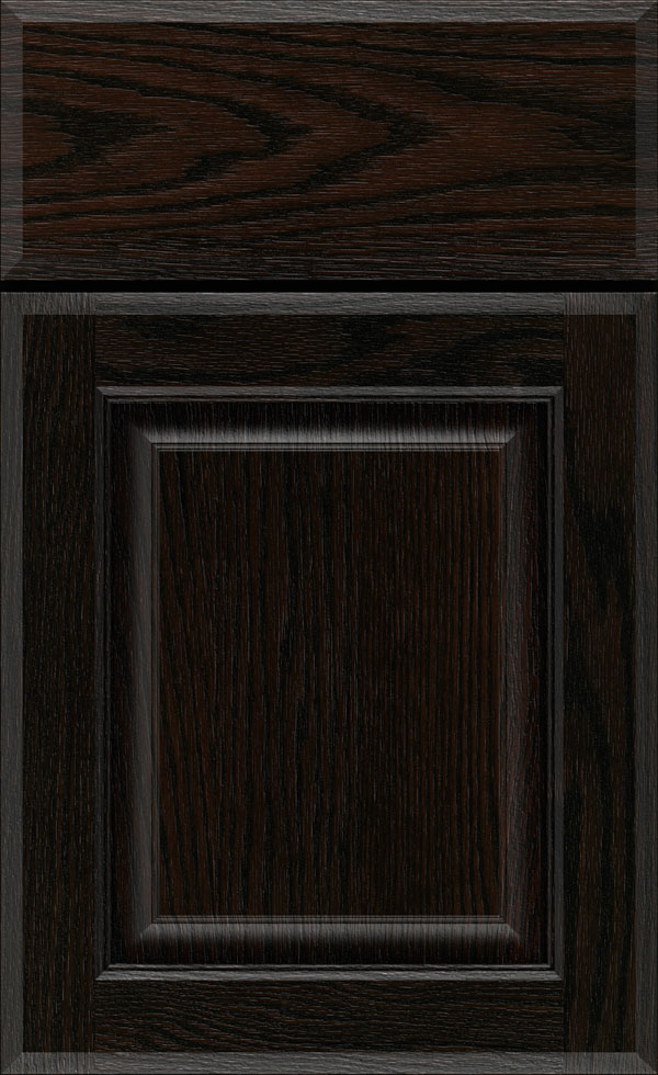 birkdale_oak_raised_panel_cabinet_door_chocolate