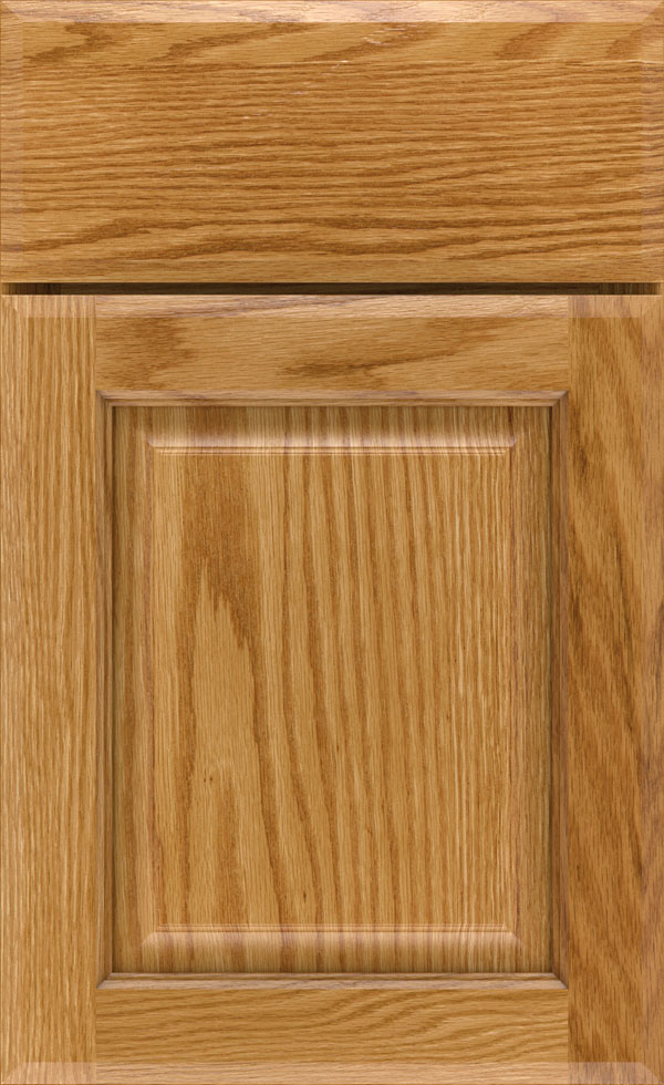 birkdale_oak_raised_panel_cabinet_door_light