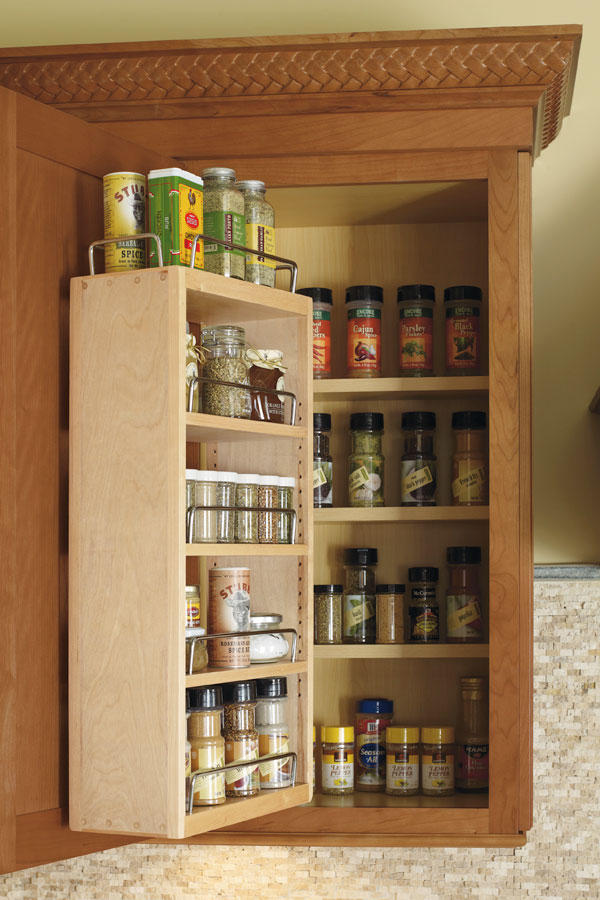 best spice racks for kitchen cabinets wall spice rack cabinet kemper cabinetry 12216
