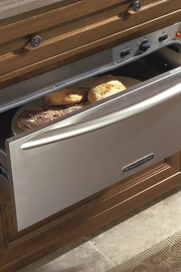 Warming drawer cabinet